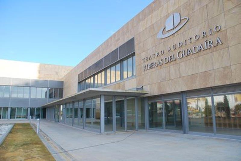 Acceso al Auditorio Municipal de Alcalá de Guadaíra